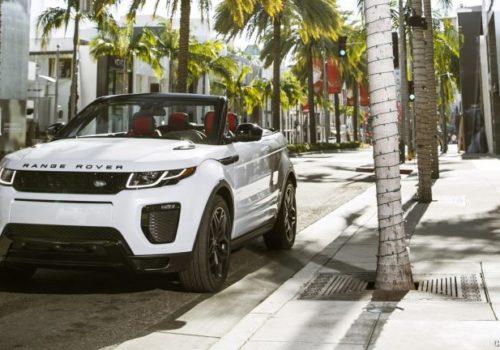 Mietwagen in Ibiza Range Rover Evoque
