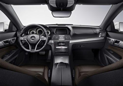 Mercedes E Cabrio Interior Barcelona