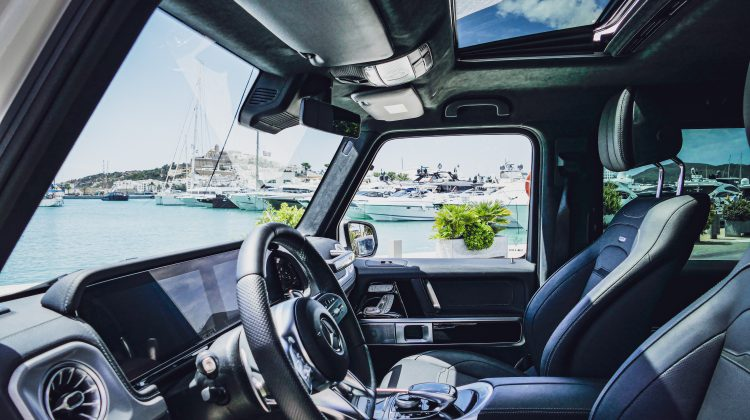 VIP Mercedes G 63 AMG for rent in Ibiza