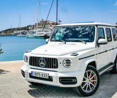 Mercedes G 63 AMG Luxury in Ibiza