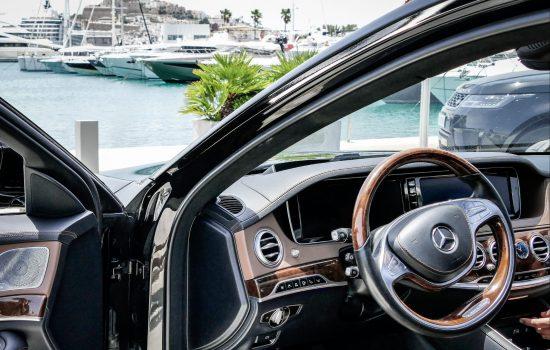 Mercedes S in Ibiza (1)