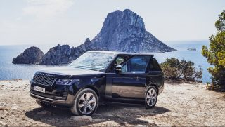 Europe Car in Ibiza provide Range Rover Vogue