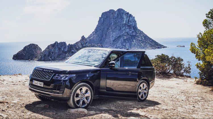 Europe Car in Ibiza provide Range Rover Vogue