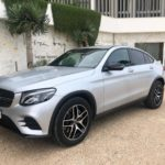 Rent Mercedes GLC coupe in Ibiza