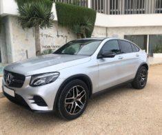 Rent Mercedes GLC coupe in Ibiza